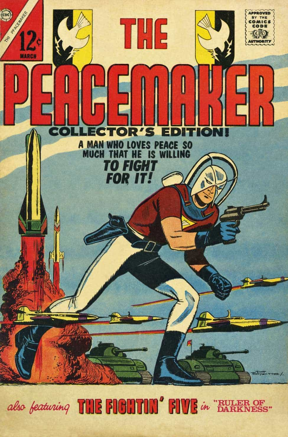 peacemaker charlton comics