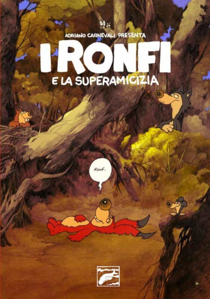 ronfi superamici autoproduzione copertina LRNZ