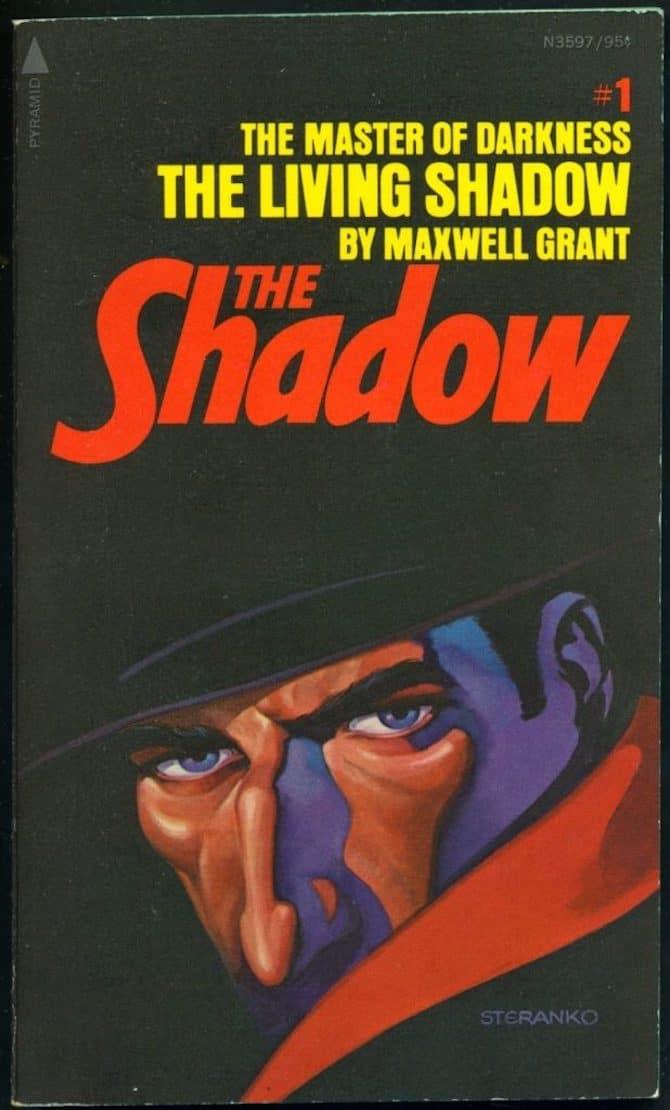 copertine jim steranko the shadow