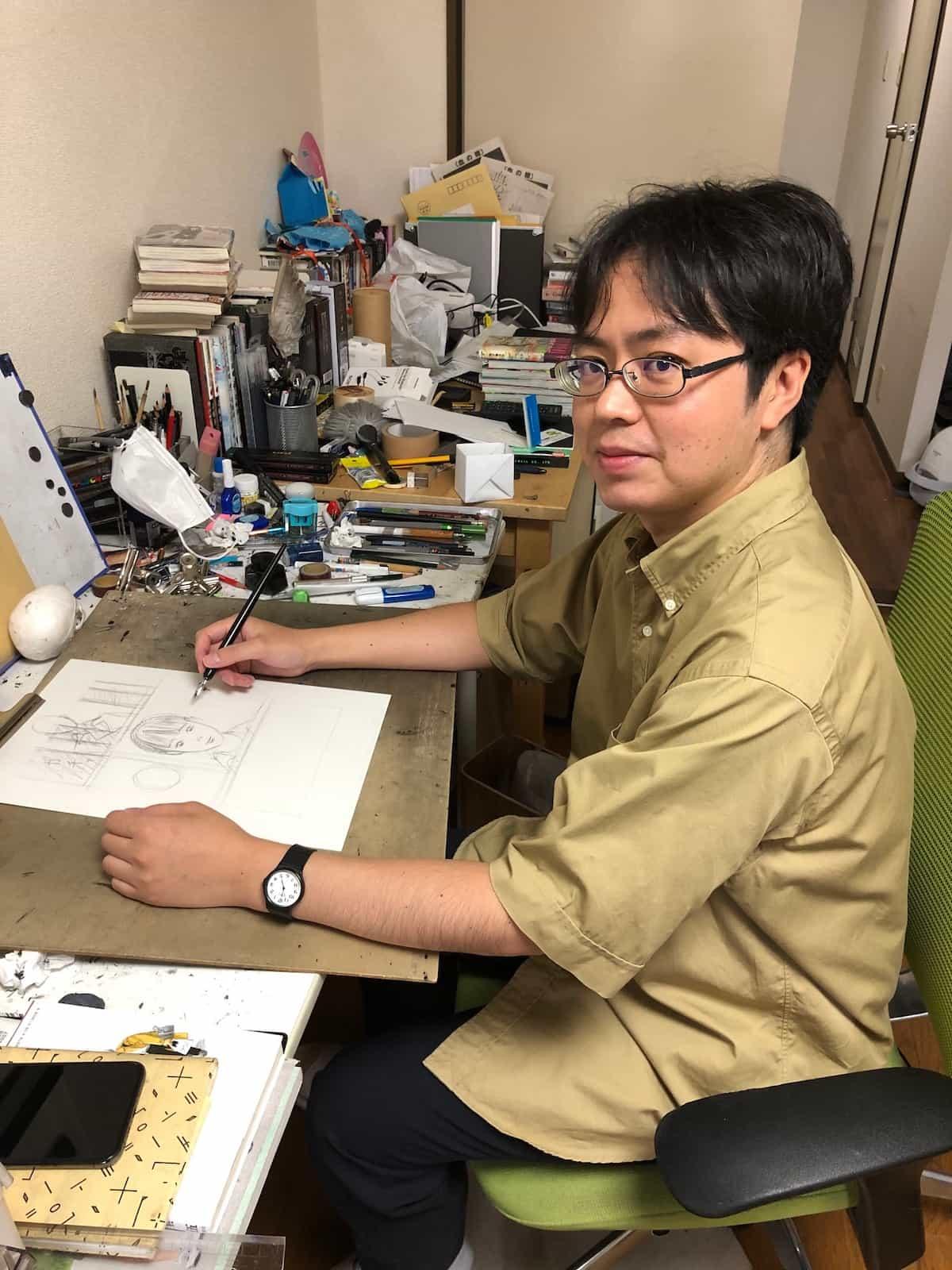 shuzo oshimi manga intervista
