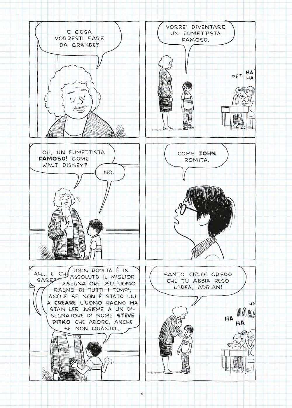 la solitudine del fumettista errante adrian tomine rizzoli lizard