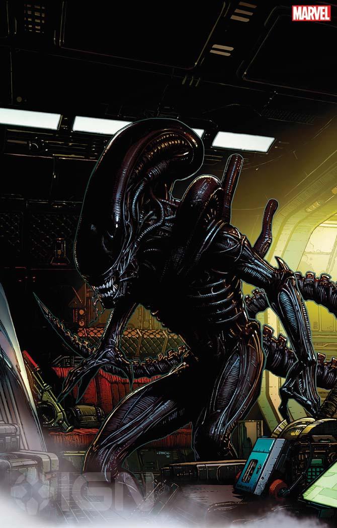 marvel alien predator fumettti