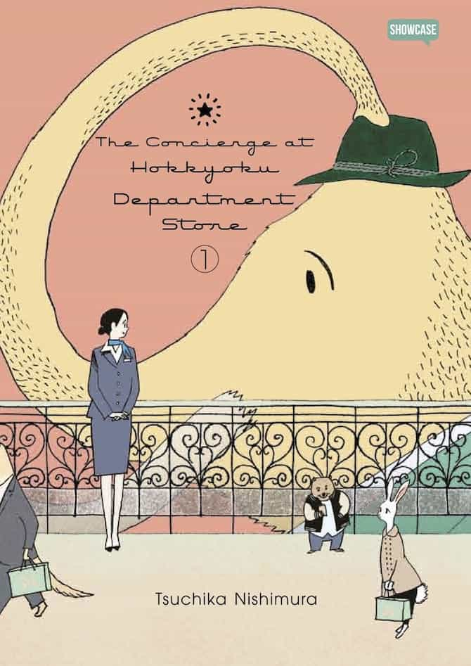 concierge department store dynit manga luglio 2020