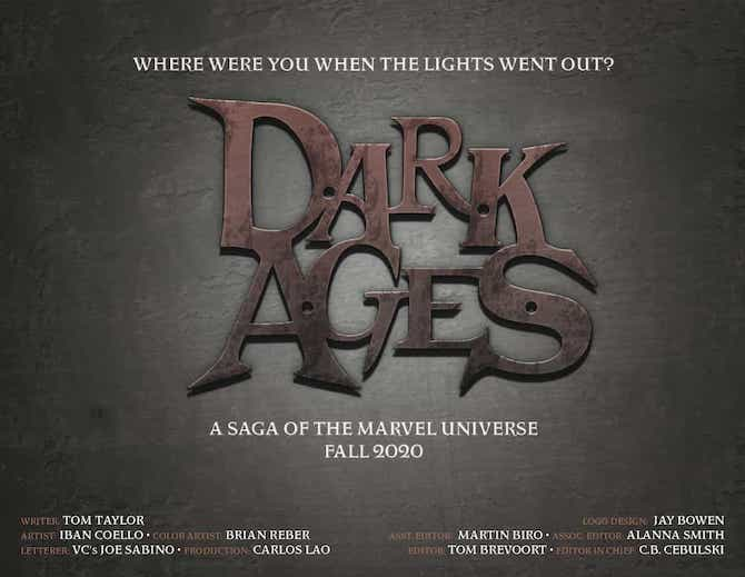 dark ages marvel comics