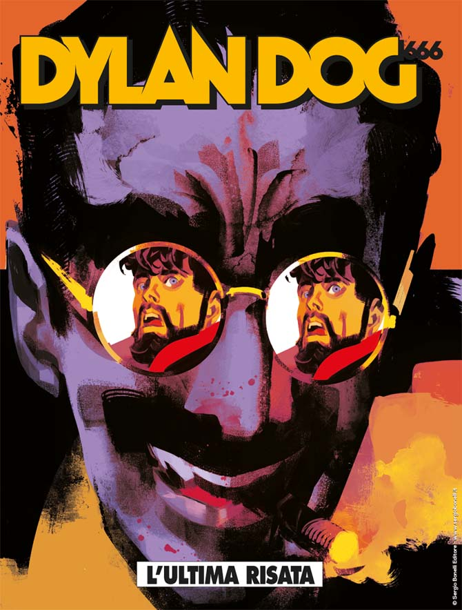 dylan dog 666 groucho