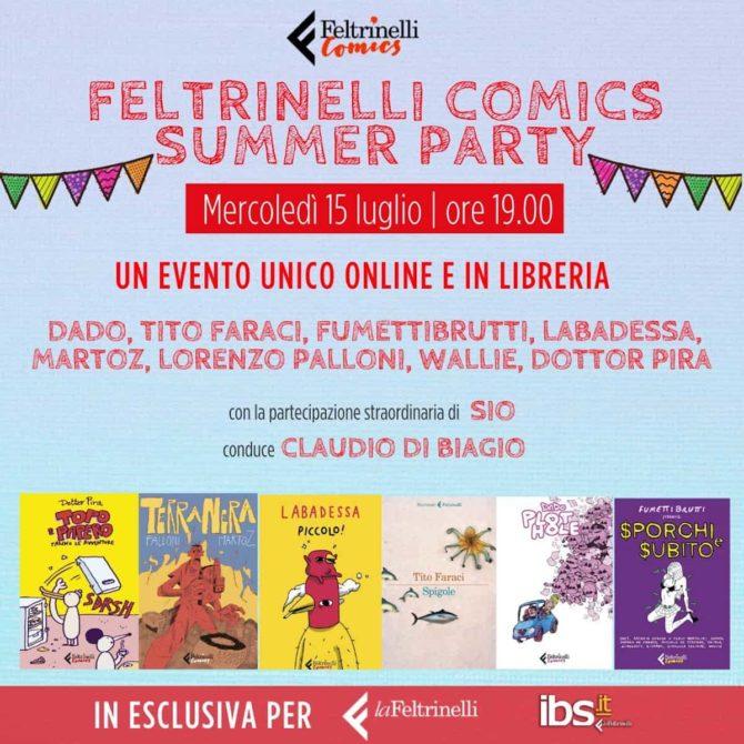feltrinelli comics summer party