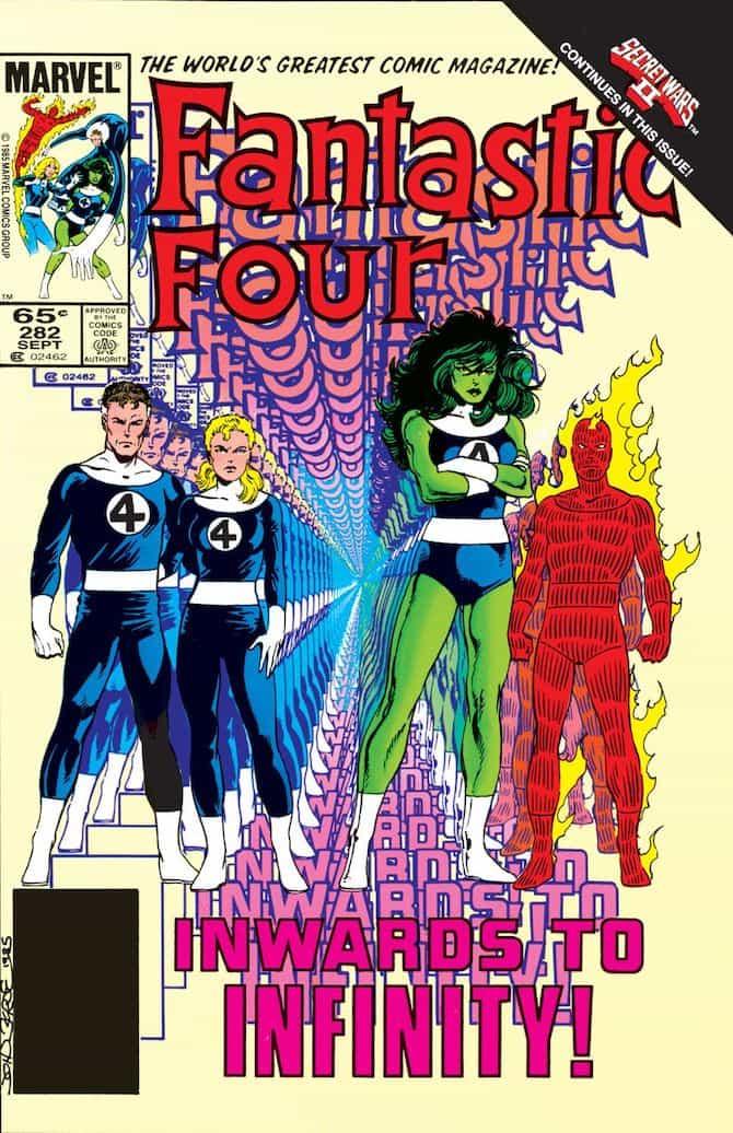 john byrne fantastic four