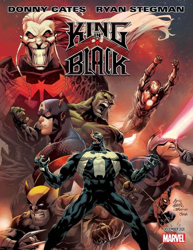 venom king in black marvel