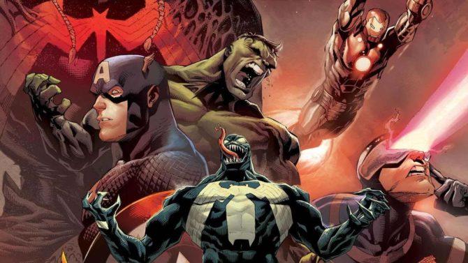 venom king in black marvel fumetti panini aprile 2021