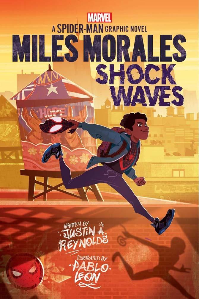 marvel graphic novel ragazzi spider-ma miles morales