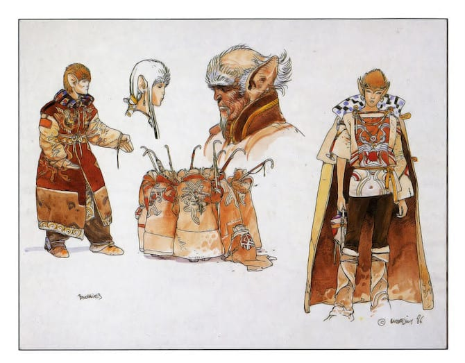 concept art moebius willow