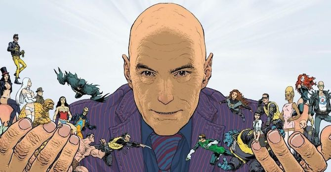 Grant Morrison NBCUniversal