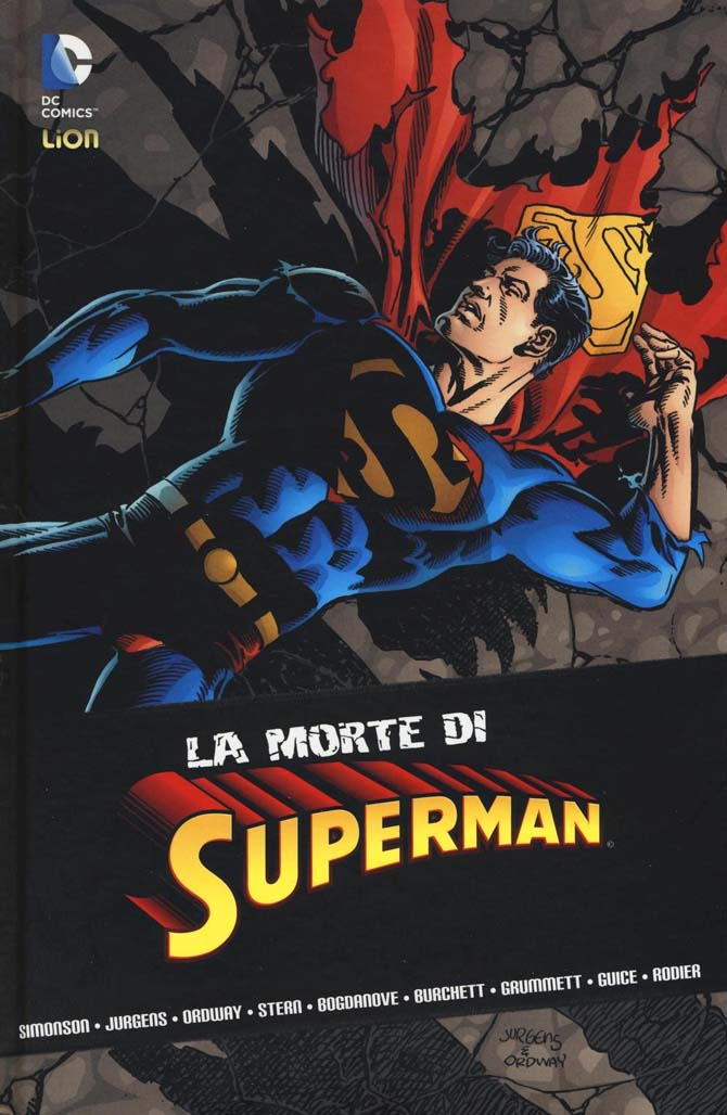 morte di superman eventi dc