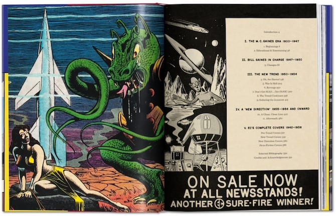taschen the history of ec comics