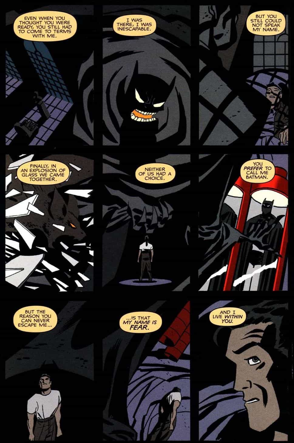 Batman Ego Darwyn Cooke fumetto film