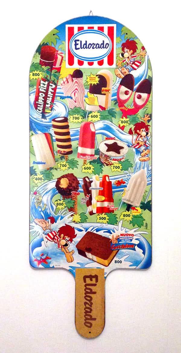 gelati eldorado 1992 giorgio cavazzano cucciolone