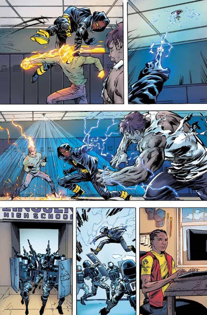 milestone dc comics fumetti