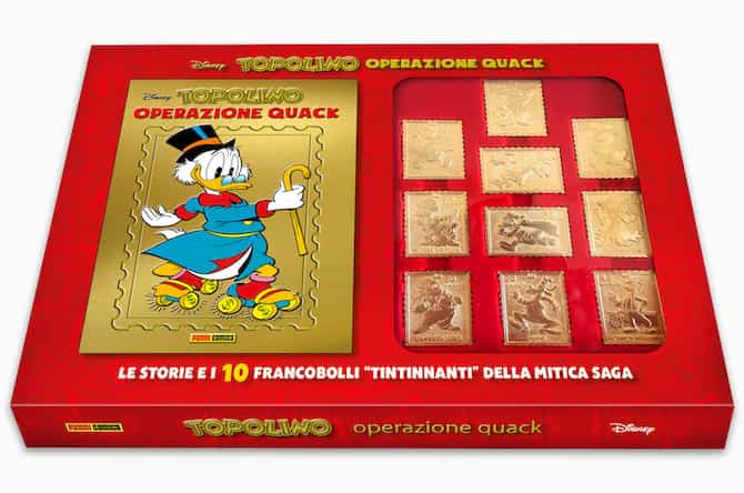 gadget topolino operazione quack