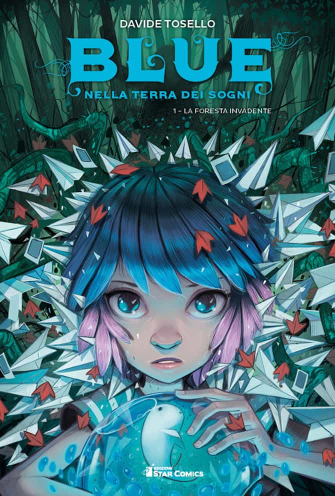 blue terra sogni davide tosello star comics