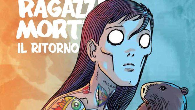 cinque allegri ragazzi morti il ritorno fumetto toffolo panini comics fumetti settimana
