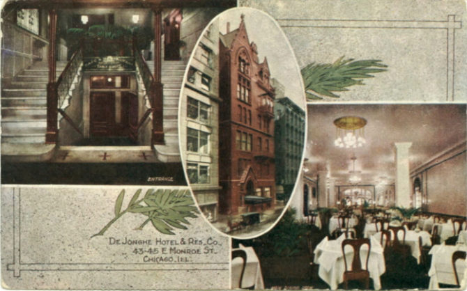 cartolina de jonge hotel