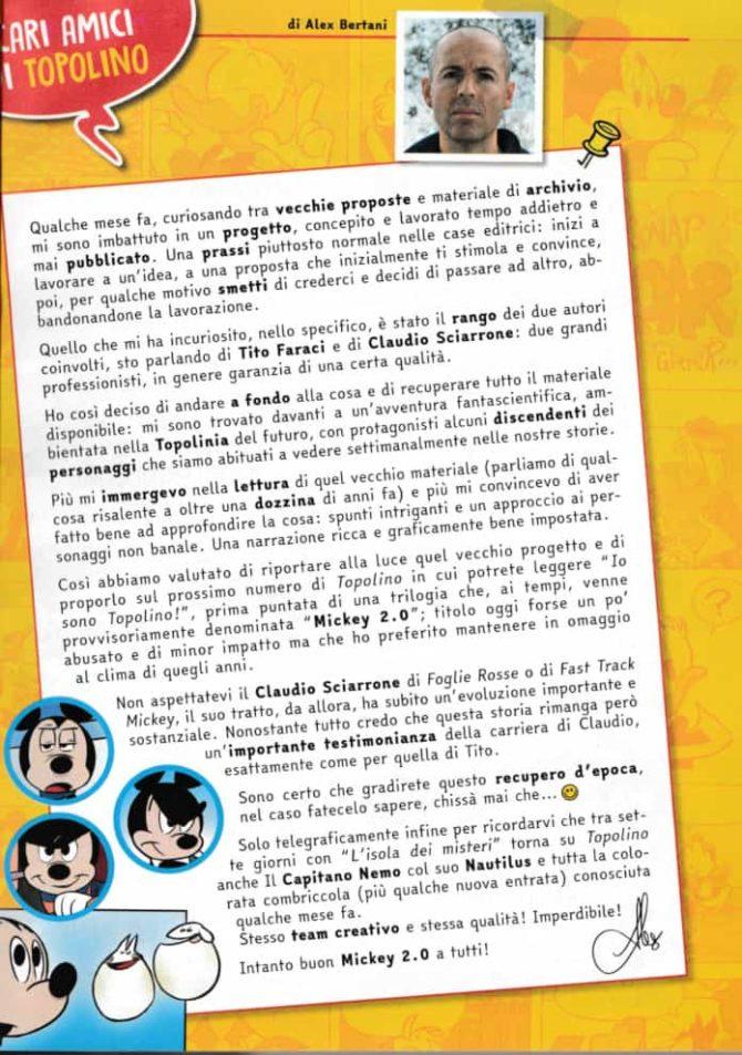 Editoriale Topolino 3384