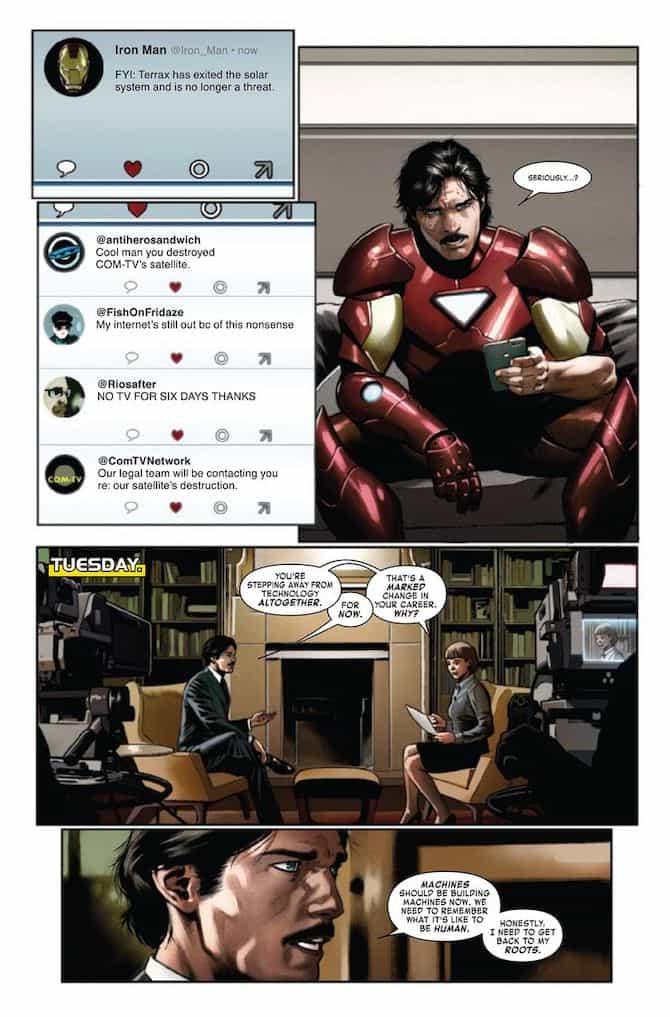 iron man nuovo fumetto