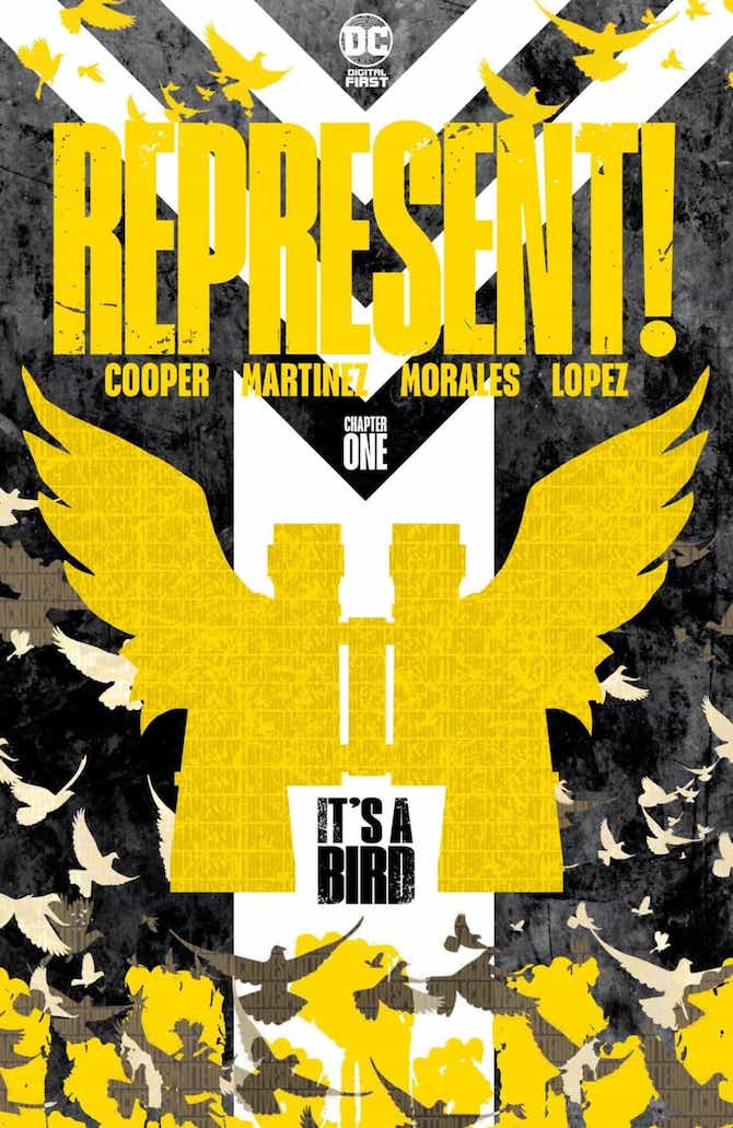 its bird Christian Cooper dc comics