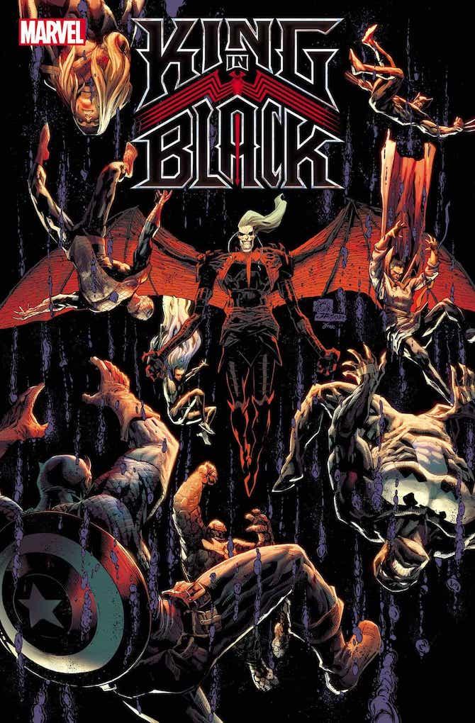 novità king in black marvel fumetti