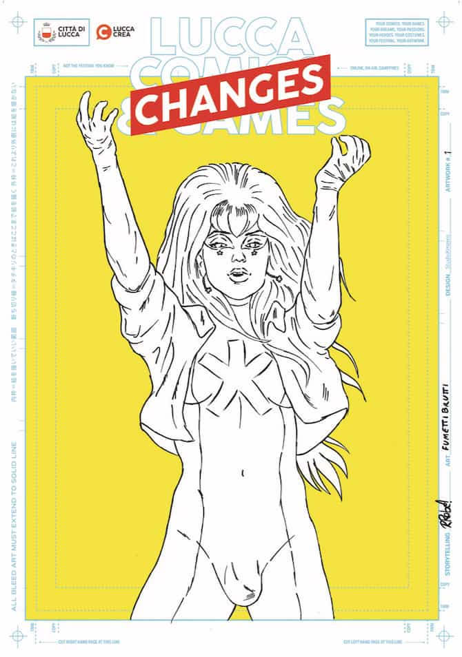lucca comics 2020 manifesto fumettibrutti