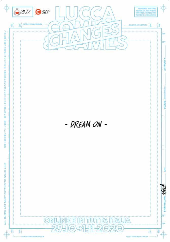 lucca comics 2020 manifesto recchioni