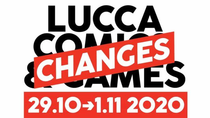 lucca comics 2020 cambiamenti