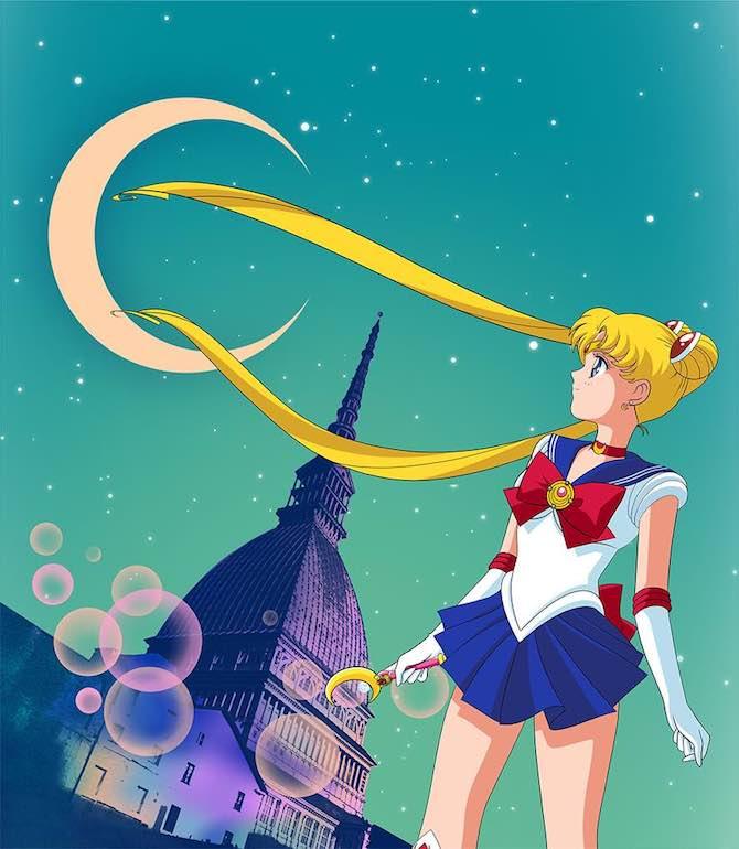mostra sailor moon