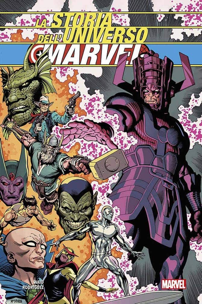 storia universo marvel fumetto mark waid