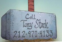 tony stark numero telefono martello thor