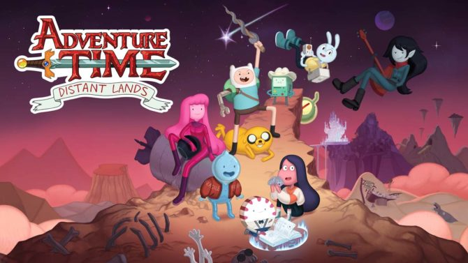 adventure time distant lands tv