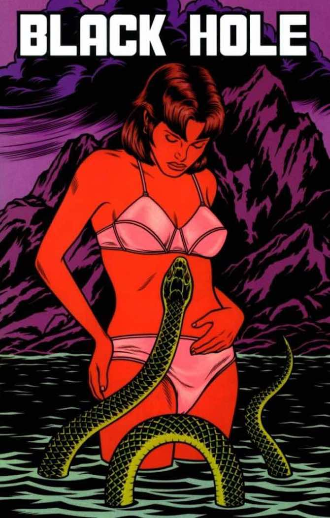 copertine black hole charles burns