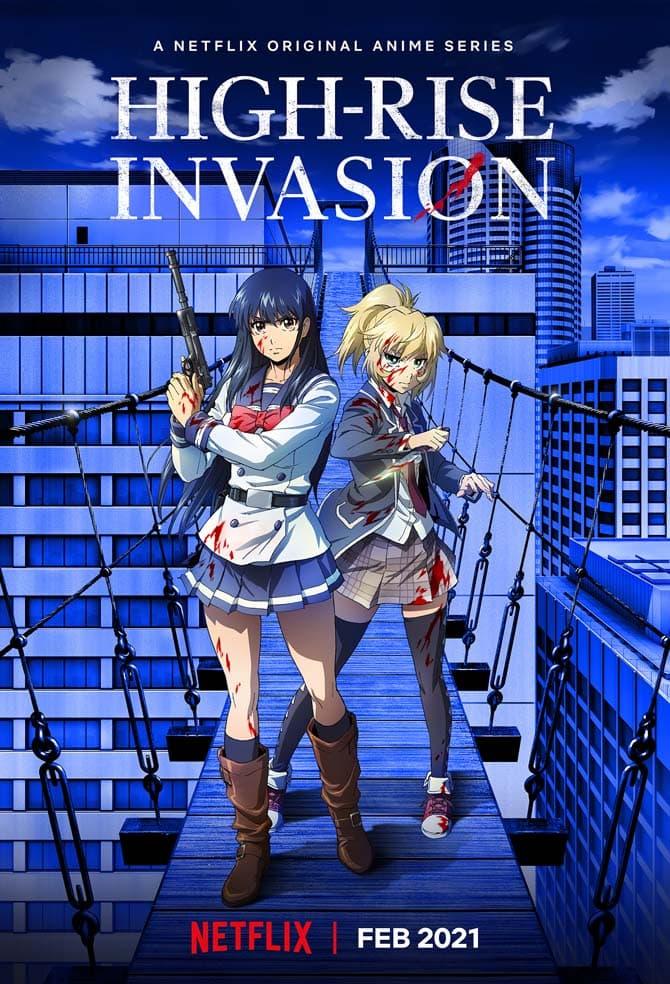 high-rise invasion netflix anime 2021