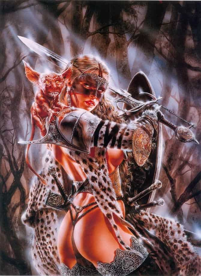 luis royo heavy metal