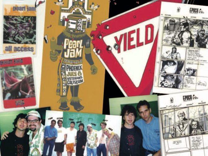 Pearl Jam Todd McFarlane Do the Evolution
