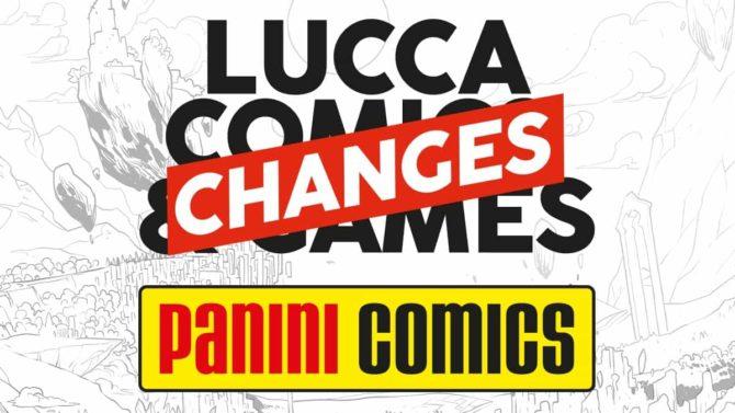 panini lucca comics 2020