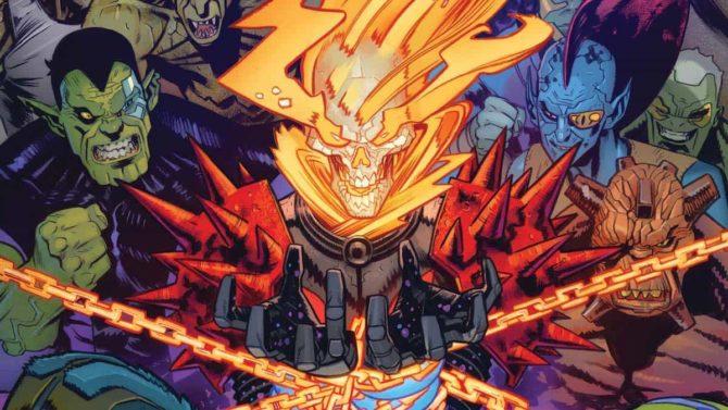 panini marvel fumetti settimana vendetta ghost rider cosmico
