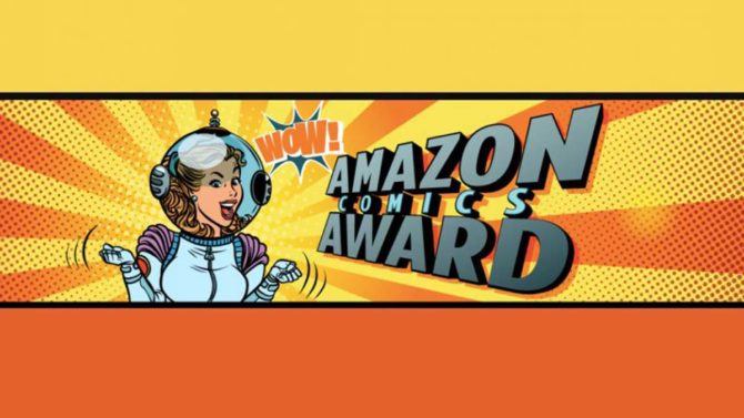 amazon comics award lucca comics