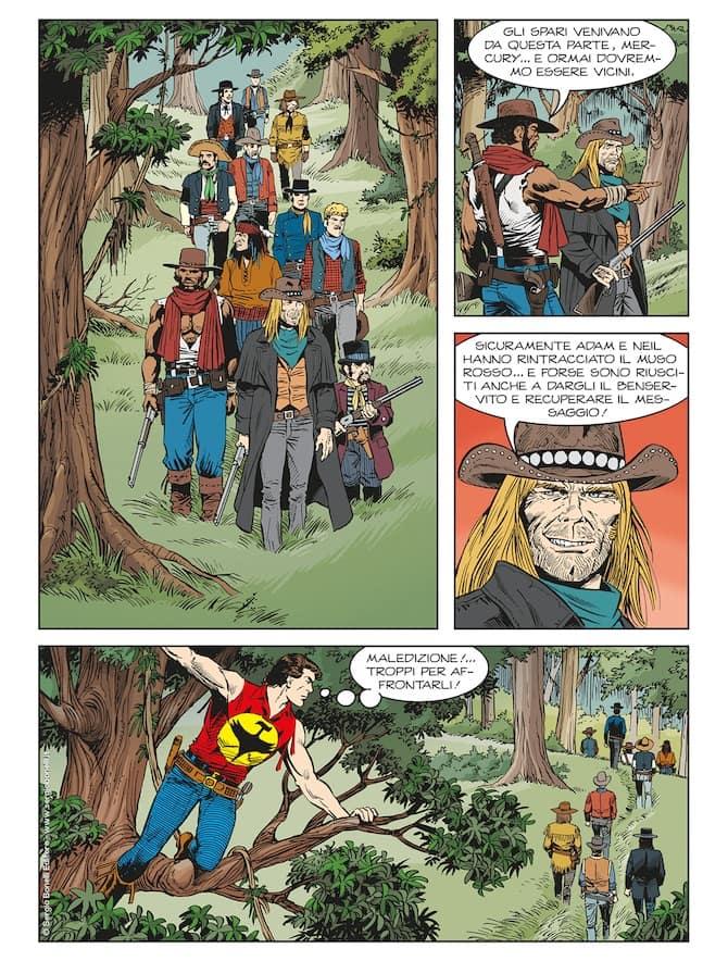 color zagor 12 bonelli fumetti