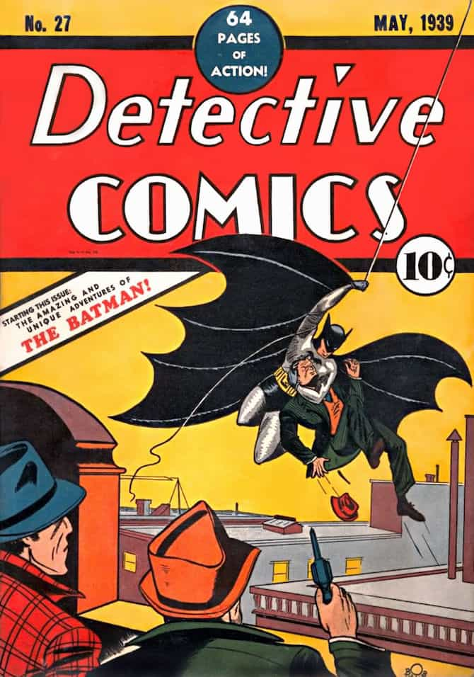 batman record detective comics 27