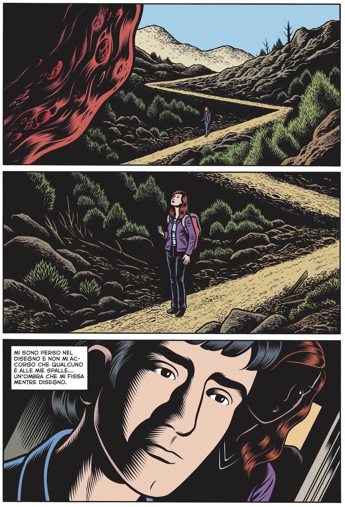 labirinti charles burns coconino fumetto
