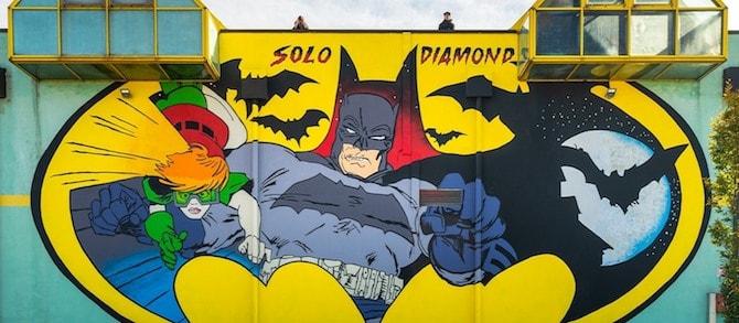 murale batman modena panini