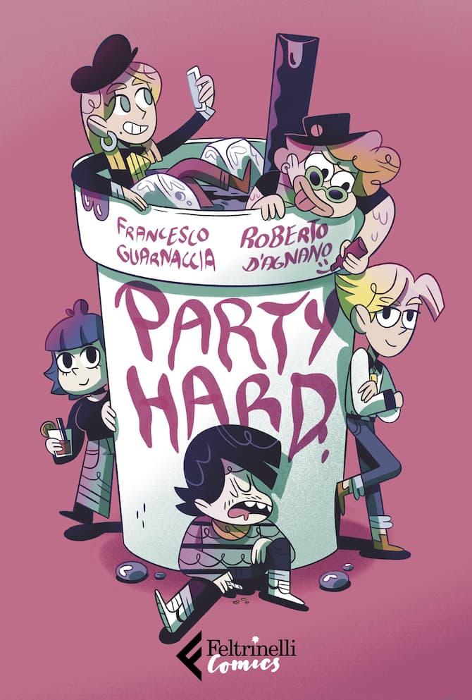 party hard guarnaccia fumetti feltrinelli novembre 2020