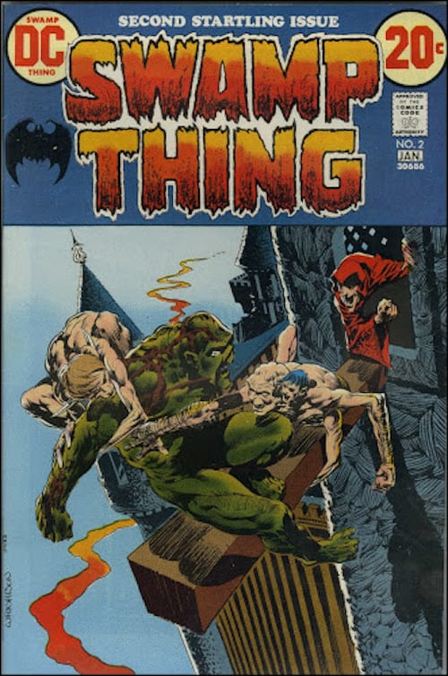 swamp thing bernie wrightson