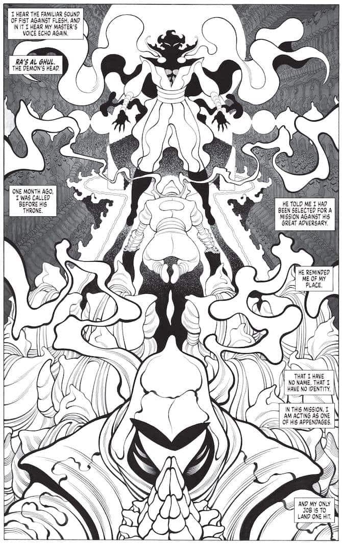 batman black white anteprima